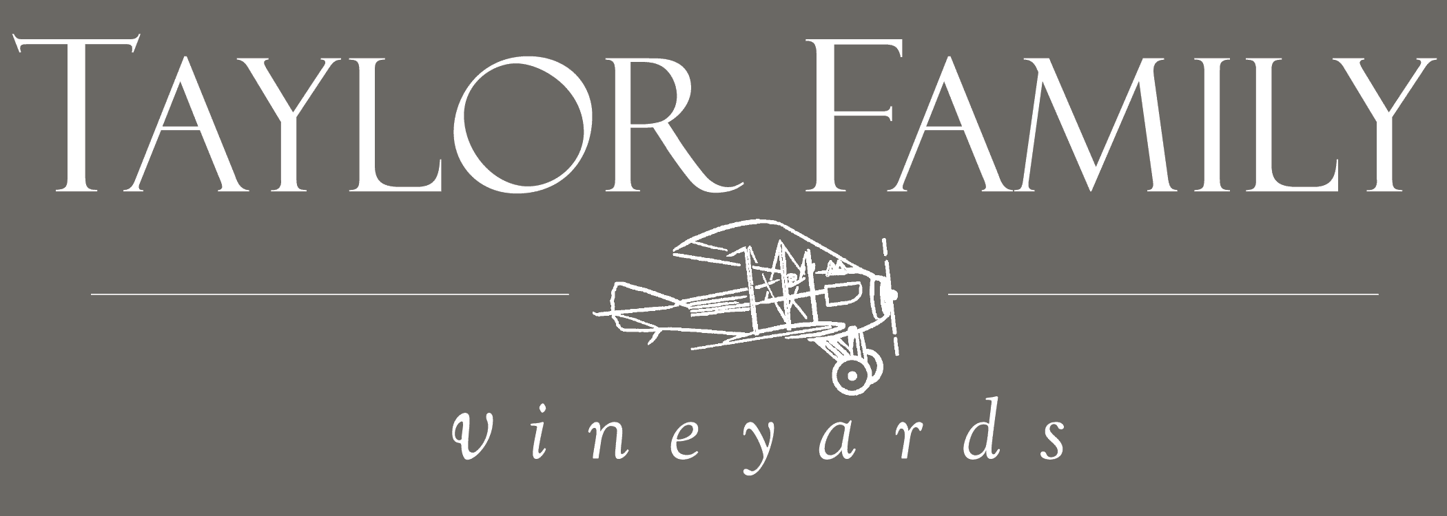 Taylor Family Vineyards | Napa Valley, California Retina Logo